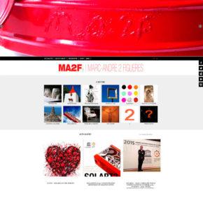 Site de l'artiste Marc André 2 Figuères