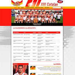 13 catalan, école de rugby à XIII Perpignan