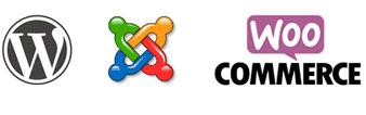 Logos Cms Web : Wordress, Joomla, WooCoommerce